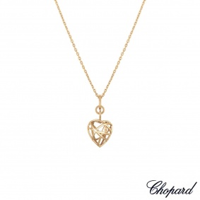 Chopard Rose Gold Guli Heart Pendant 797713-5001